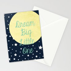 Dream Big Little One Stationery Cards