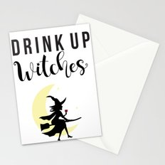 Drink up witches Stationery Cards