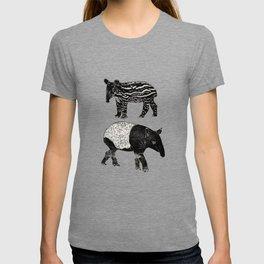 Malayan Tapir & Baby T-shirt