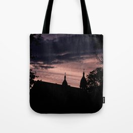Stormy Night in Montreal Tote Bag