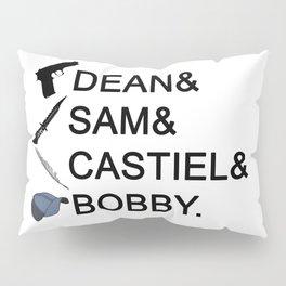 Supernatural Names Pillow Sham