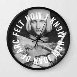 Joan of Arc Wall Clock
