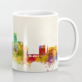 Providence Rhode Island Skyline Cityscape Coffee Mug