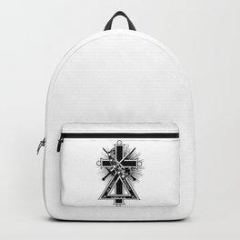 Masonic cross Backpack