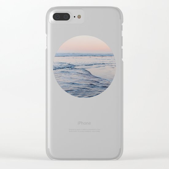 Pacific Dreaming Clear iPhone Case