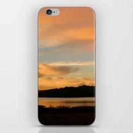 Lake Casitas Sunrise iPhone Skin