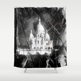 Paris - Basilique du Sacré Cœur Shower Curtain