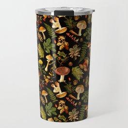 Vintage & Shabby Chic - Autumn Harvest Black Travel Mug