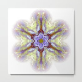 snowflake for good day Metal Print