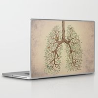 breathe Laptop & iPad Skins featuring Breathe! by Marcelo Jiménez