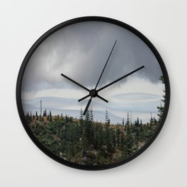 Out Over The Edge Wall Clock