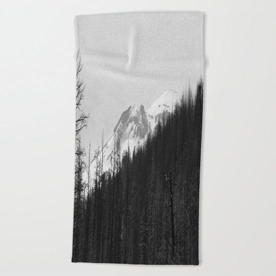 Trees Die Beach Towel