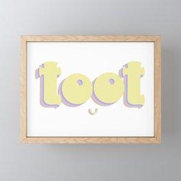 Ladies Toot Framed Mini Art Print