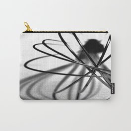 Abstract Kitchen Whisk BW Carry-All Pouch