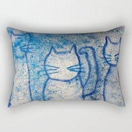 Cosmic cats Rectangular Pillow