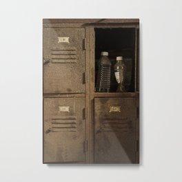 Vintage lockers Metal Print