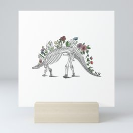 Stego-flora-saurus Mini Art Print