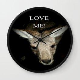 Love me! Wall Clock