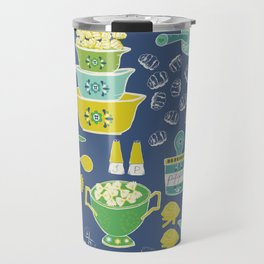 pasta & vintage dishes Travel Mug
