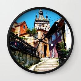 Clock Tower Wall Clock