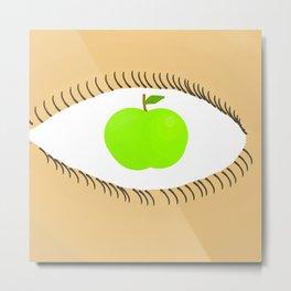 Apple of my Eye Metal Print