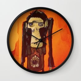 Hugues Monki Maton Wall Clock