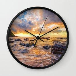 Maia beach Wall Clock