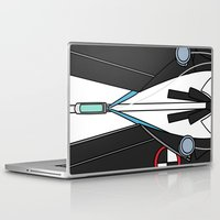 persona Laptop & iPad Skins featuring Persona 3 Protagonist Uniform by Bunny Frost