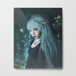 Snow elf Metal Print