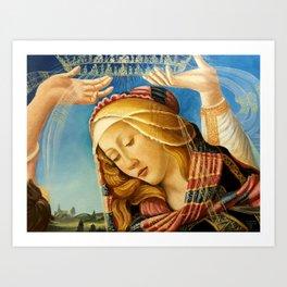 MADONNA of the Magnificat Art Print