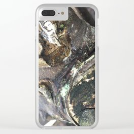 stumpy Clear iPhone Case