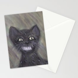 Black Leopard Cub Stationery Cards