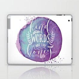 PROVERBS 16:24 Laptop & iPad Skin