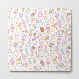 I love Ice Cream Metal Print