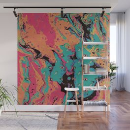 Senses pouring II Wall Mural