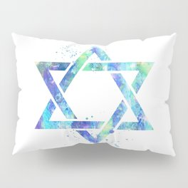 Star Of David Pillow Sham