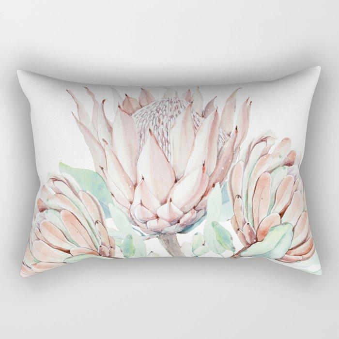 Protea #society6 #buyart Rectangular Pillow