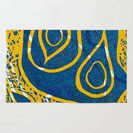 Linocut Print_1 Rug