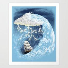 Perfect Storm Art Print