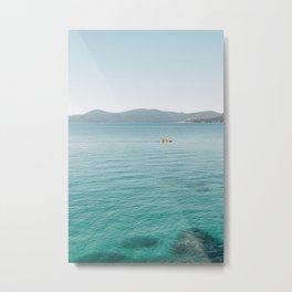 Summer Lake Day Metal Print