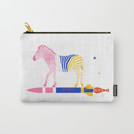 Zebra Rock It 15A Carry-All Pouch