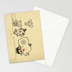 Forest Friends \ Cute Animals March\ elephant cats dogs  Stationery Cards