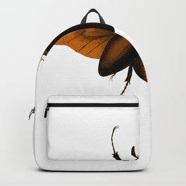 Insekt Motte Käfer zu Halloween Backpack