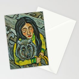 Driftwood Wolf * Nature Maiden Stationery Cards