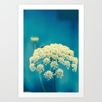 lace Art Prints featuring Lace by Olivia Joy StClaire