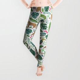 Jungle/Tropical Pattern Leggings