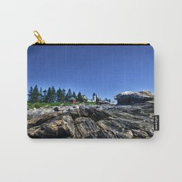Pemaquid Light in Maine Carry-All Pouch