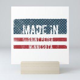 Made in Saint Peter, Minnesota Mini Art Print