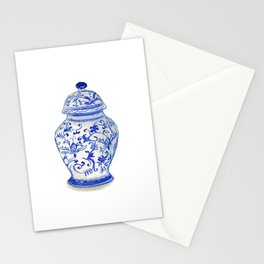 Blue and White Chinoiserie Stationery Cards