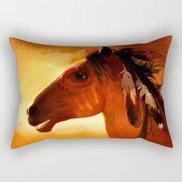HORSE - Apache Rectangular Pillow